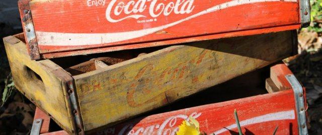 lădiță pentru Coca Cola