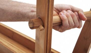 Jair Straschnow – Mobilier modular sau pliant din panouri lamelare de bambus