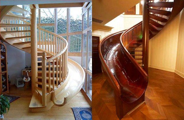 scari cu topogan in casa ta scari interioare