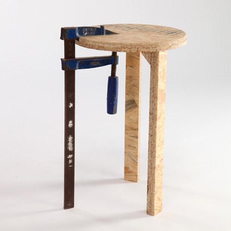 scaun exercitiu de design