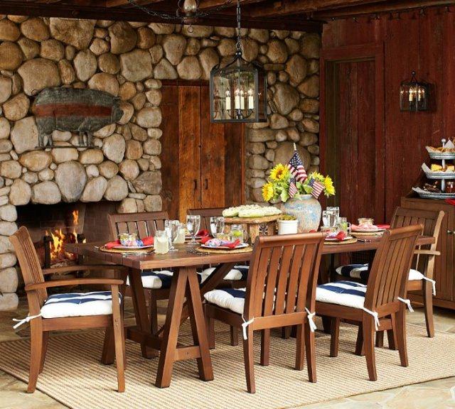 Masă cu scaune pentru terasă