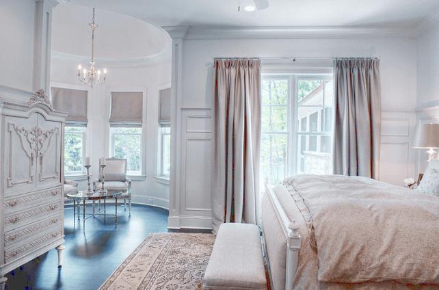 dormitor cu design frantuzesc