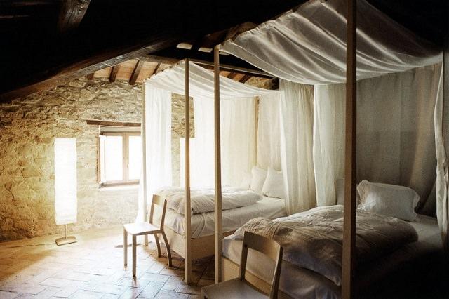dormitor dublu in stil italian