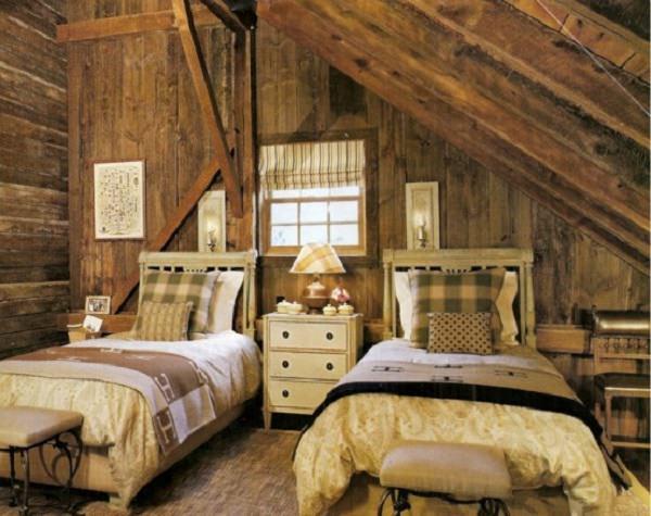 dormitor in hambar