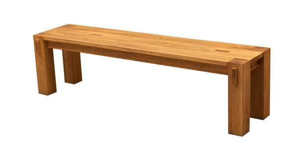 lemn masiv de stejar banca din stejar pentru - masa fixă Porto