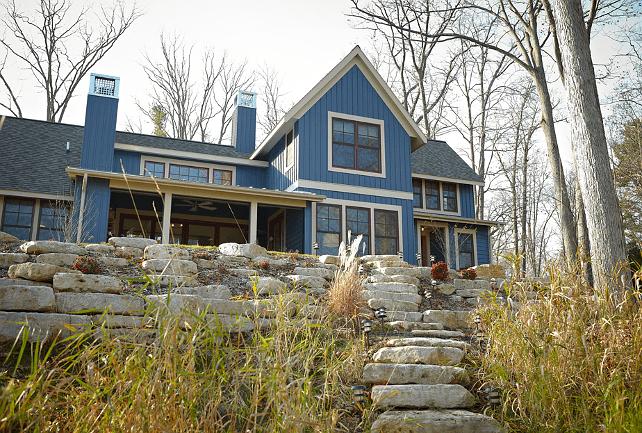 casa cu vedere spre lac