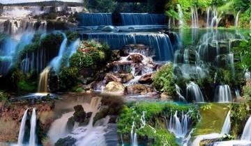 10 cascade relaxante pentru grădină