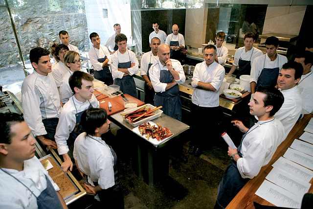 curs pentru bucătari cu stele Michelin