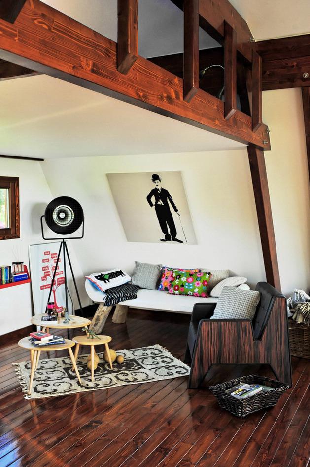 design interior prefabricat - Locuinta ecologica