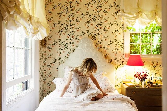 dormitorul lui Rita Konig