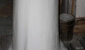Masă rustică cu blat masiv de 40 mm