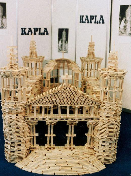 lego de lemn Kapla