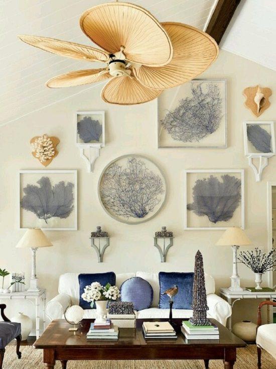 living room inspirat de mare