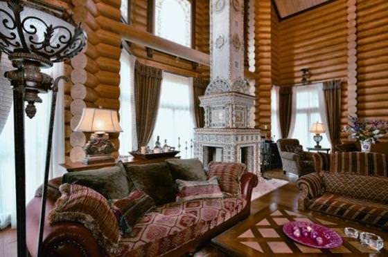 amenajari interioare cu lemn masiv