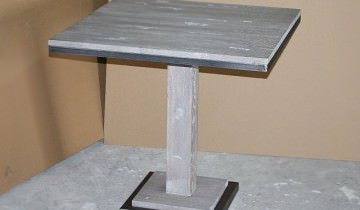 Mese de bar din lemn și metal pentru HORECA