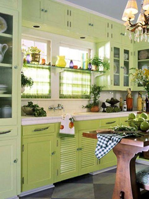 bucataria verde - Culorile verii