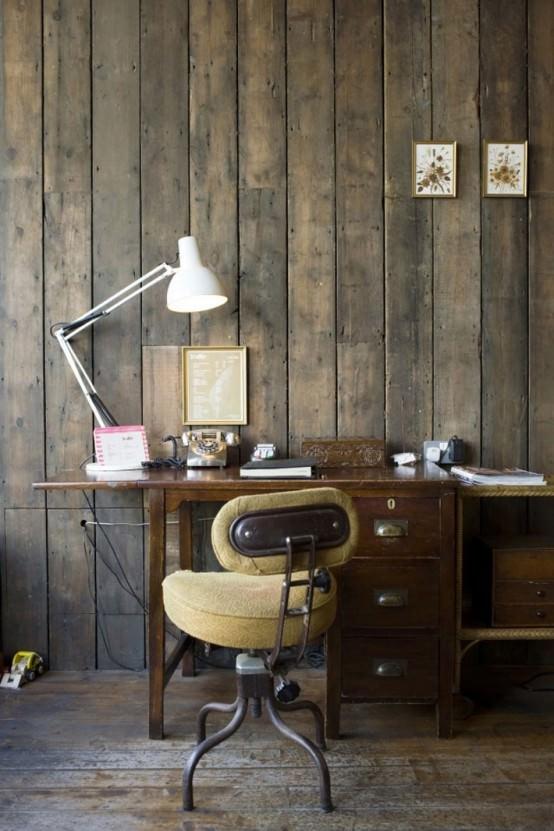 design interior rustic si vintage