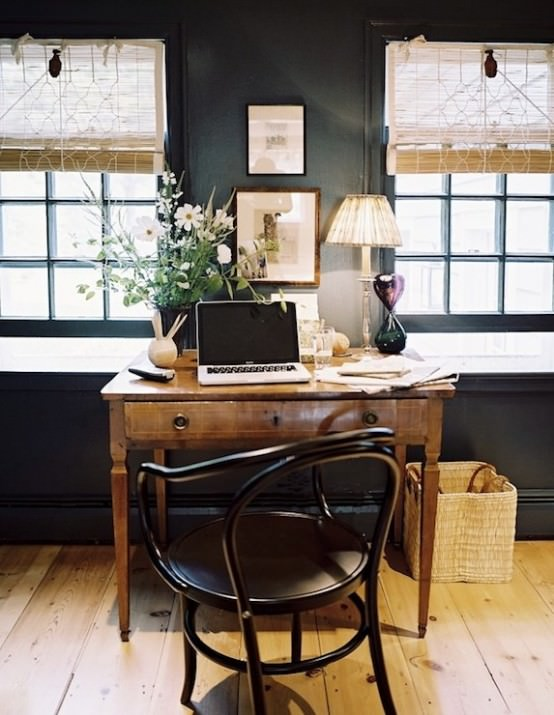 mobilier vintage - biroul de acasa