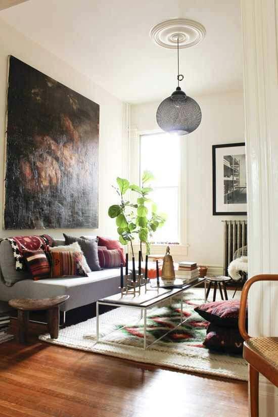 stil bohemian in casa ta
