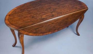 Masă ovală din lemn de stejar … de vânzare pe Ebay