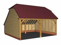 garaj din stejar