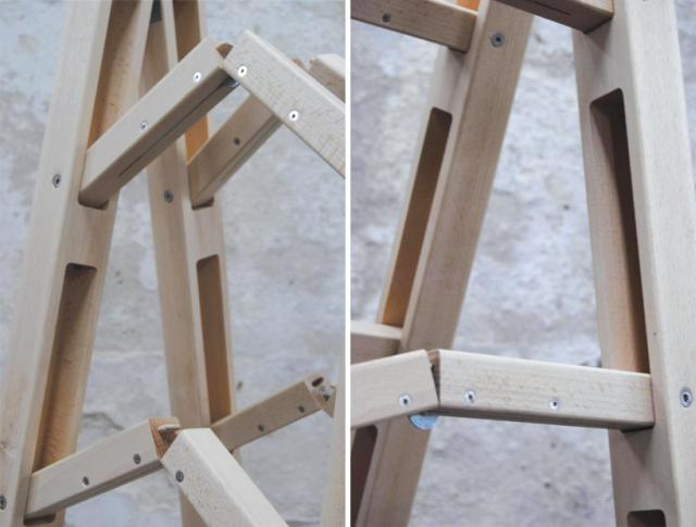 scara de zugrav plianta din lemn plianta