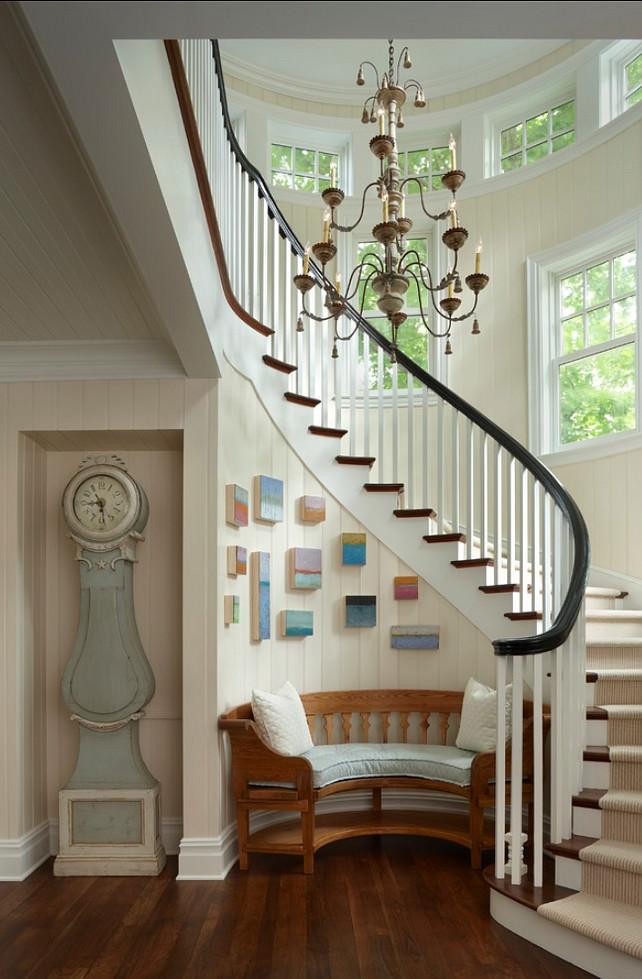 scari elegante de interior