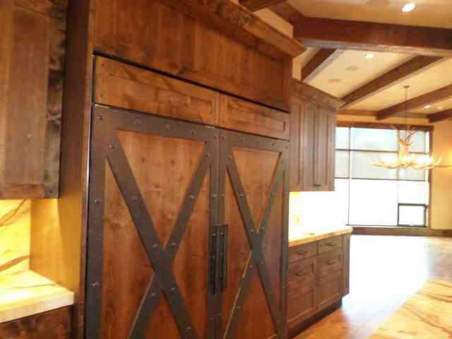 lemn vechi in amenajări americane