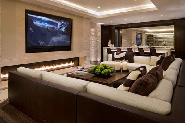home cinema lounge