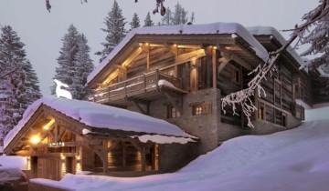 Dor de schi și zăpadă și cabană