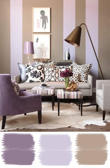 decorațiuni interioare culori complementare