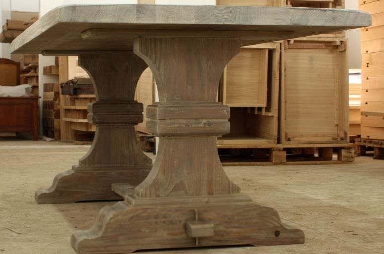 mobila din lemn masiv Masa fixa Dublin