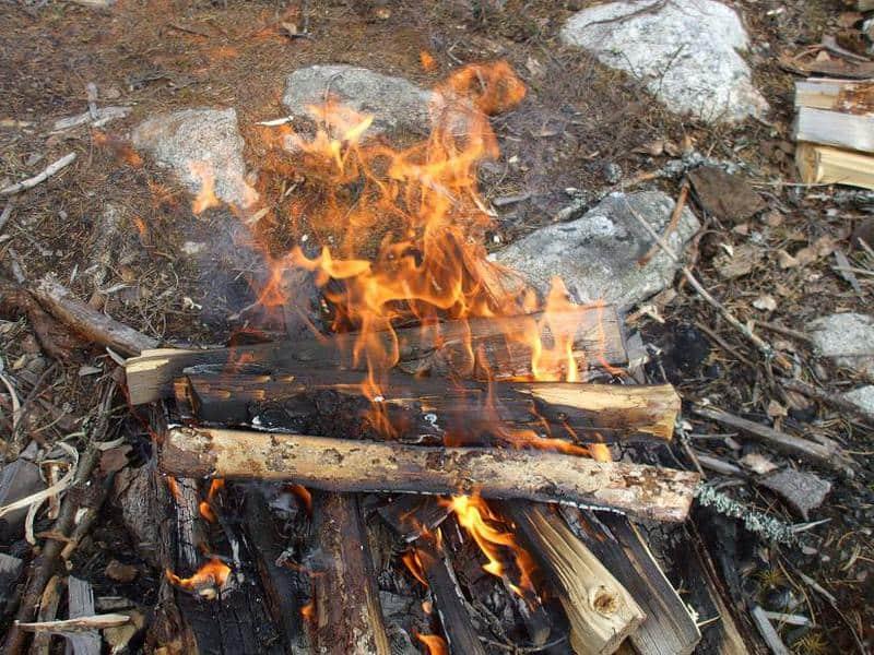 cum se face focul