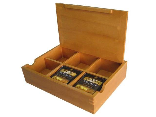 cutii de lemn