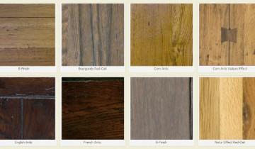 Culorile pentru lemnul de stejar
