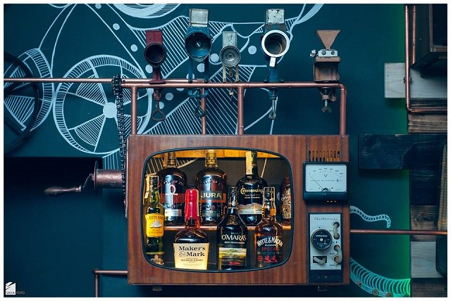 design interior steampunk