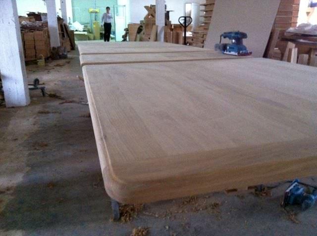masa extensibila mare din lemn masiv