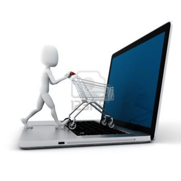 cos de cumparaturi - shopping online