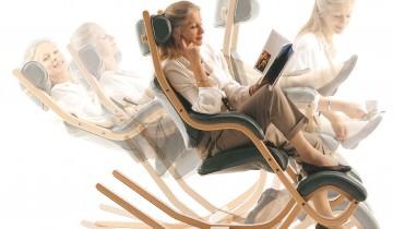 Gravity Balans Chair – designer Peter Opsvik