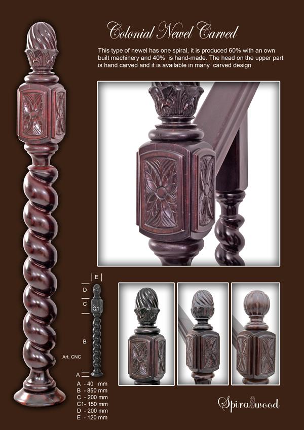 elemente sculptate de balustrada