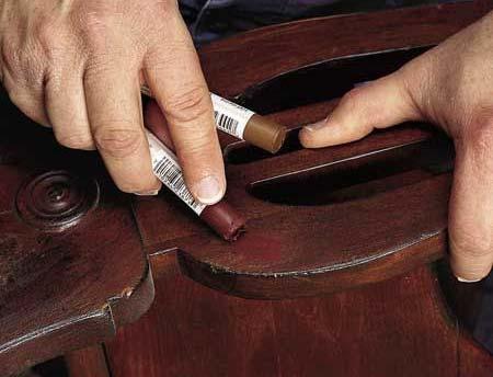 mobila din lemn masiv - Reparatii pentru mobila