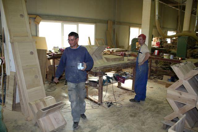 echipa de asamblare manuală