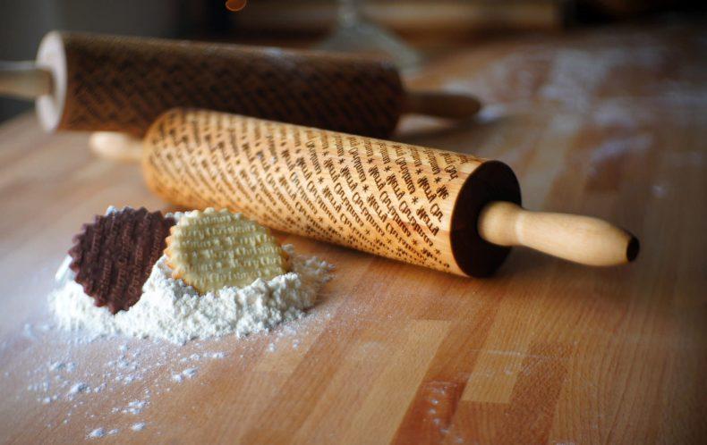 pentru bucatarie din lemn - sucitoare