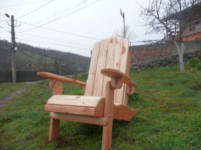scaun de lemn pliant