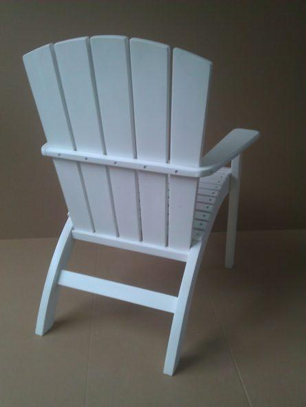 scaun de terasa Adirondack pliant