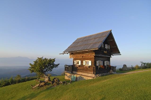 cabane de lemn