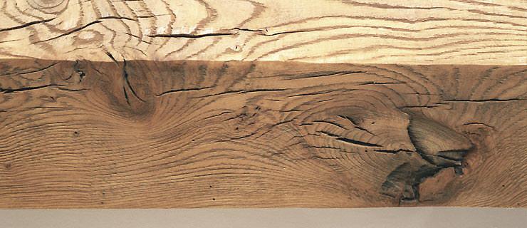 lemn masiv de stejar Fibra rustica