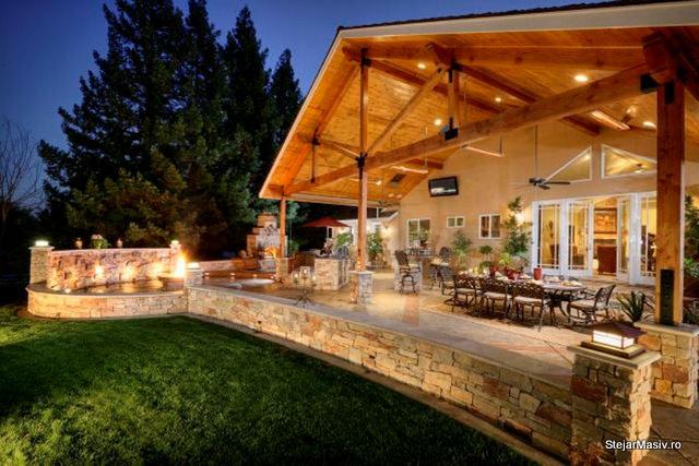 idei de amenajare pe terasa