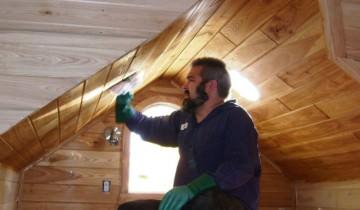 Finisajul lemnului masiv cu ulei de tung