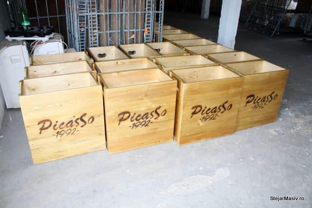 cutiile din lemn pentru Picasso